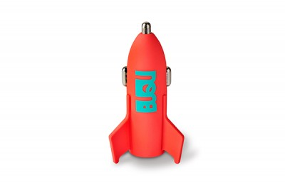 BUQU Astro - Rocket Car Charger - Pink