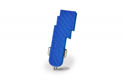 BUQU Bolt - Lightning bolt car charger - Blue