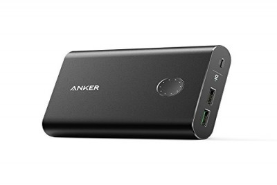 PowerCore+ 13400mAh with 1x Quick Charge 3.0 3A, 1x PowerIQ 2.4A port, MultiProtect (Black)