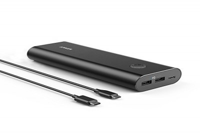 PowerCore+ 20100mAh USB-C with 2x PowerIQ 2.4A ports, MultiProtect (Black)