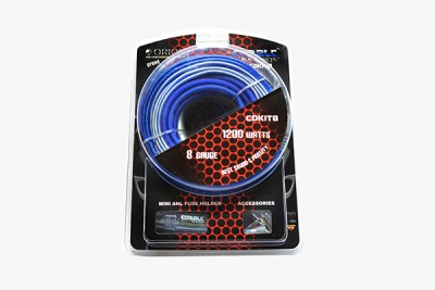 ORION COBALT COMPLETE AMPLIFIER KIT 8 GAUGE SOFT RUBBER