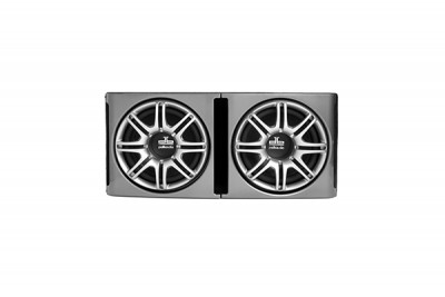 "POLK DUAL 12"" SUBWOOFER IN ENCLOSURE - 2 OHM"