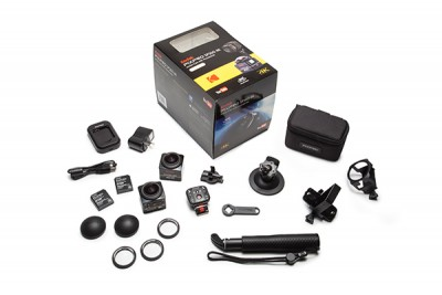 KODAK PIXPRO 360 Action Camera SP360 4K DUAL PRO PACK- BLACK