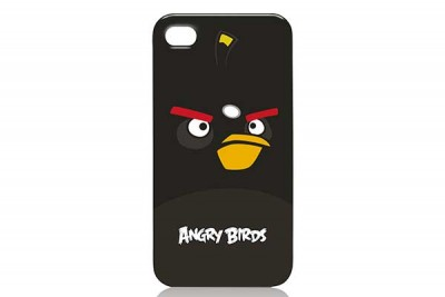 GEAR 4 ANGRY BIRDS CASE FOR IPHONE 4 -  BLACK