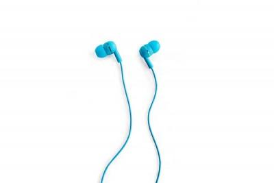 BOOM LEADER IN-EAR HEADPHONES BLUE