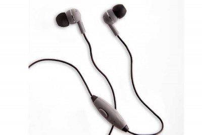 BOOM LEADER IN-EAR HEADPHONES GREY WITH MICROPHONE