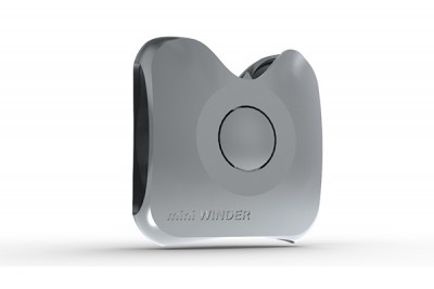 MINIWINDER EARPHONE STORAGE SOLUTION - SILVER GREY