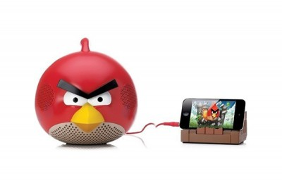 GEAR 4 ANGRY BIRDS - RED BIRD SPEAKER WITH PHONE STAND