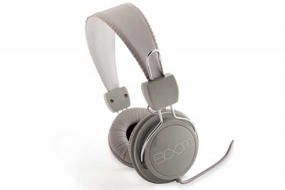 BOOM RENEGADE OVER-EAR HEADPHONE GREY/WHITE