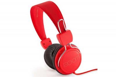 BOOM RENEGADE OVER-EAR HEADPHONE RED/ORANGE