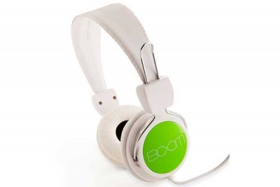 BOOM RENEGADE OVER-EAR HEADPHONE WHITE/GREEN