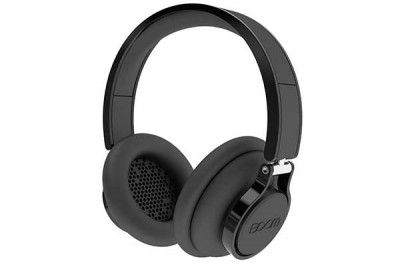 BOOM ROGUE ON EAR HEADPHONES BLACK