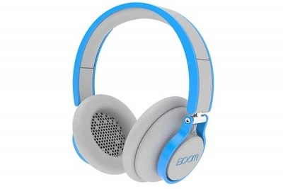 BOOM ROGUE ON EAR HEADPHONES GREY