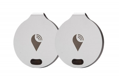 TRACKR BRAVO - 2 PACK - SILVER / SILVER