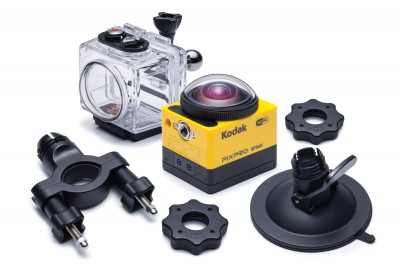 KODAK PIXPRO  360 Action Camera SP360 EXTREME PACK