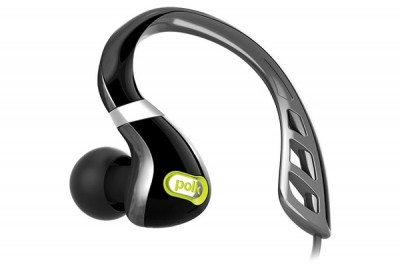 POLK ULTRAFIT 3000 IN EAR HEADPHONES - BLACK/GREEN