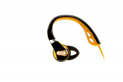POLK ULTRAFIT 500 IN EAR HEADPHONES - BLACK/GOLD