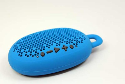 BOOM URCHIN PORTABLE WIRELESS SPEAKER BLUE