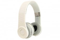FANNY WANG 1000 SERIES ON EAR HEADPHONES - WHITE