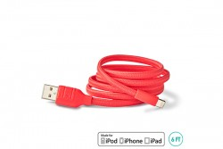 BUQU USB to Lightning Cable 6FT Pink