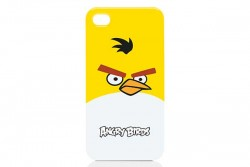 GEAR 4 ANGRY BIRDS CASE FOR IPHONE 4 - YELLOW