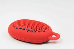 BOOM URCHIN PORTABLE WIRELESS SPEAKER RED