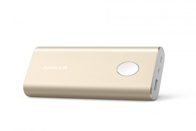 PowerCore+ 10050mAh with 1x Quick Charge 3.0 3A, PowerIQ 2.4A port, MultiProtect (Gold)