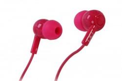 BOOM LEADER IN-EAR HEADPHONES PINK